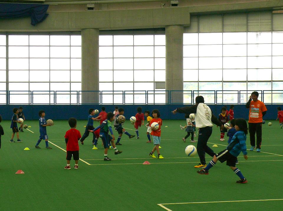 レノファ山口・サッカー教室